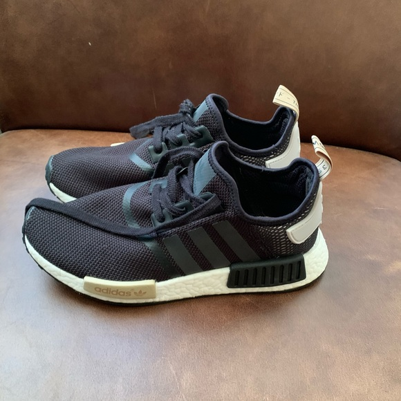 adidas Shoes   Nmd R1 Black And Tan